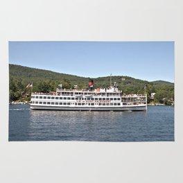 Lac du Saint Sacrement Steamboat Rug