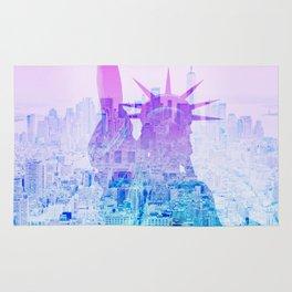 STATUE OF LIBERTY NEW YORK Rug