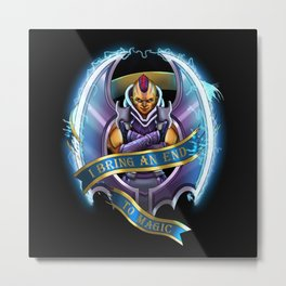 Antimage Metal Print
