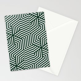 Phthalo green - green - Minimal Vector Seamless Pattern Stationery Cards