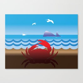 Crab Whale Watch Canvas Print