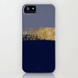 Stormy night skies over the ocean iPhone Case