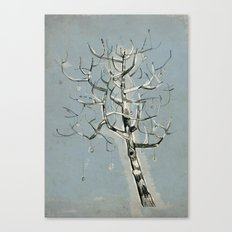 button tree Canvas Print