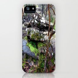 Volcanic Lava Rocks iPhone Case