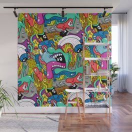 Brain Dump Wall Mural