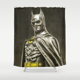 BAT-MAN 1989 Shower Curtain