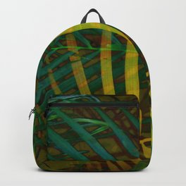 TROPICAL GREENERY LEAVES no6 Backpack