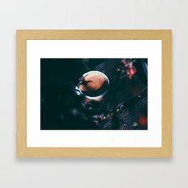 Espresso in the morning Framed Art Print