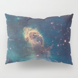 Space Nebula, A View of Astronomy, Stars, Galaxy, and Outer space  Pillow Sham