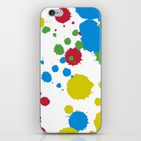 xbox iPhone & iPod Skins featuring Controller Graffiti XBox One by AngoldArts