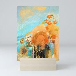 """Odilon Redon """"Evocation of Roussel"""" Mini Art Print"""