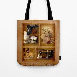 Vintage sewing machine Simplex Tote Bag