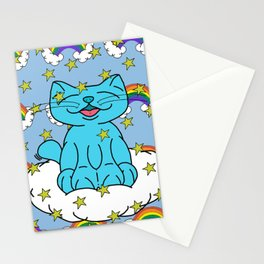 Milo With Rainbows & Stars Stationery Cards