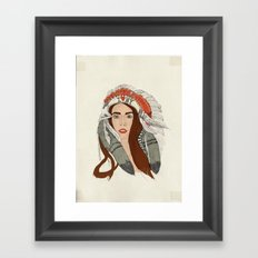 Indian NY Framed Art Print