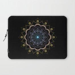 Contrast mandala Laptop Sleeve