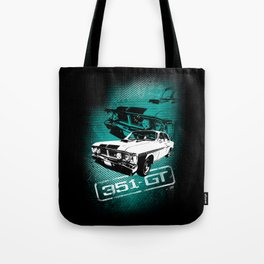 Ford Falcon XY GTHO Phase III (Grunge) Tote Bag