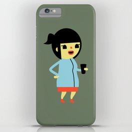 Anna (Alt) iPhone Case