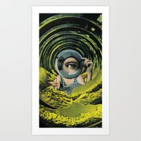 Close Inspection Art Print