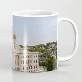 State House Capital Building of Providence, Rhode Island Coffee Mug