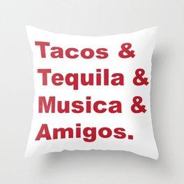 Great Weekends Throw Pillow