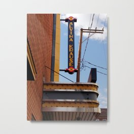 THE THEATRE IN COLOR Metal Print