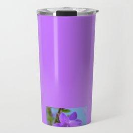 Bellflower in the Rain Travel Mug