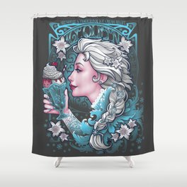 Ice Cream Queen Shower Curtain