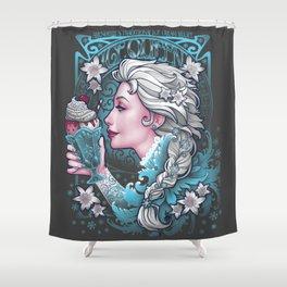 Ice Cream Queen Shower Curtain