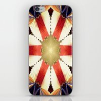 agents of shield iPhone & iPod Skins featuring Shield by Deborah Benoit