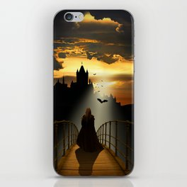 The monk iPhone Skin