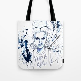 #STUKGIRL KYE (Keep it Real) Tote Bag