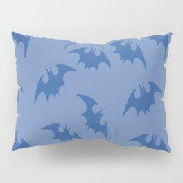 Blue Bats Pillow Sham