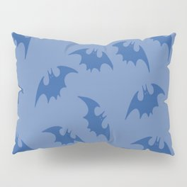 Blue Bats Pillow Sham