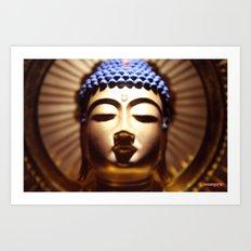 Buda Amida Art Print