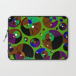 Bubble green black Laptop Sleeve