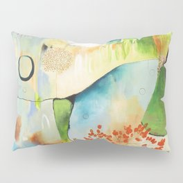 """Rainwash"" Original Painting by Flora Bowley Pillow Sham"