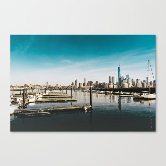 Silent City View - NYC Canvas Print