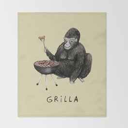 Grilla Throw Blanket