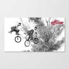Offline II Canvas Print