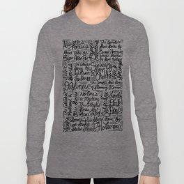 For Alan Long Sleeve T-shirt