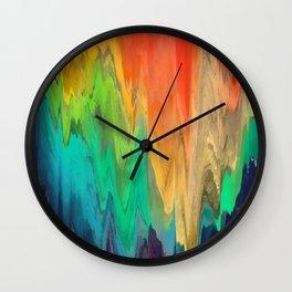 Pixel Sorting 67 Wall Clock