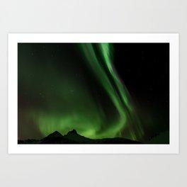 Northern Lights in Norway 05 Art Print