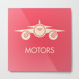 MOTORS / The Plane Metal Print