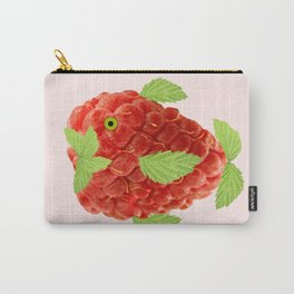 Raspberry Fish Fantasy Carry-All Pouch