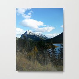 Mountain River Metal Print