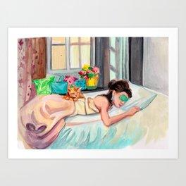 Tiffany Art Print