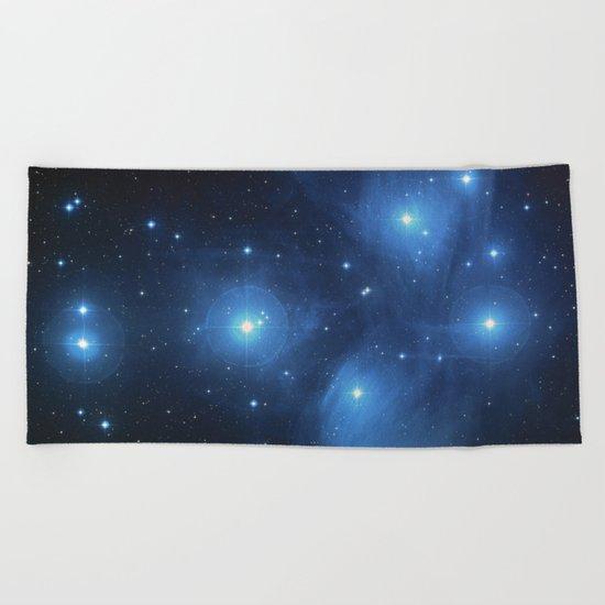 Star Struck - Pleiades Beach Towel