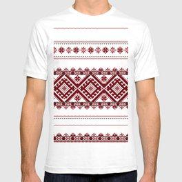 Traditional romanian motif T-shirt
