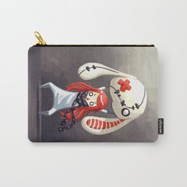 Bunny Plush Carry-All Pouch