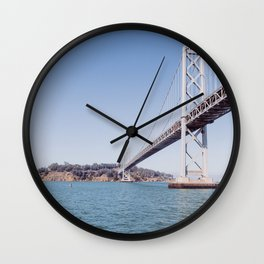 Bay Bridge Wall Clock